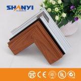 6063 T5 Metarial la creación de perfiles de aluminio/Perfil de aluminio extruido para la ventana