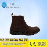 Стальным носком лампа Высокая посадка безопасности рабочая обувь