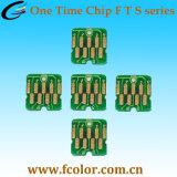 Substituir la viruta del cartucho para la impresora de Epson F6200 F7200 F9200