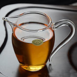 ガラスティーセットのガラスティーカップの茶ガラスフィルター