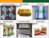 Máquina de empacotamento automática do alimento indiano da bolacha do queijo
