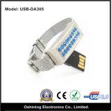 USB Flash Drive 1GB, 2GB, 4GB (USB-DA305) di Wristband del diamante