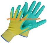 Перчатка работы нитрила, перчатка сада