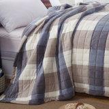 Couvre-lit d'ouatine de Microfiber de type de l'Angleterre, couvre-lit, couverture de lit, maneton de bâti