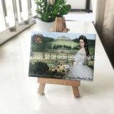 Promotion de la plaque d'étain Photo souvenir touristique des aimants de réfrigérateur