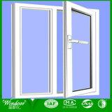 Деревянные зерна дверная рама перемещена из пвх окон с резиновым уплотнением