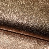 Tela de tingidura de couro de carimbo quente malogrado da sapata do falso sintético do plutônio