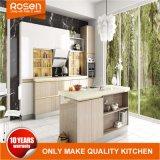 Moderner hoher glatter Lack-Flachgehäuse-Küche-Möbel-Schrank
