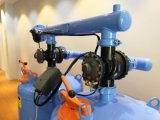 2automatique du vérin du sable de quartz de 36 pouces support arrière du système de filtration de l'irrigation au goutte à goutte de l'eau de rinçage