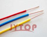 Fio isolado PVC do condutor de H05V-U único (contínuo)