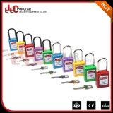 Bloqueios de bloqueio de cadeado de segurança Slim colorido com Steel Shackle