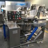 Longze industrielle automatische mischende Induktions-Popcorn-Maschine für Karamell-Aroma-Pilz Popcorns