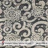 Nuevo tejido de nylon de encaje de algodón vestido de Material (M3480-G)