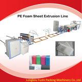Línea de la protuberancia de la hoja de la espuma de EPE