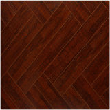 Commercial 12.3mm Miroir Walnut Sound Absorving Laminate Flooring