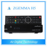 H. 265 het Uitzenden de Decoder van de Apparatuur DVB S2 DVB T2/C met IPTV Zgemma H5
