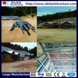 Zwischenlage-Leuchte-Luxuxfertigstahllandhaus-Stahl-Herstellung