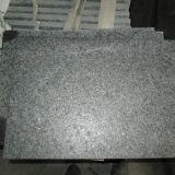 Черный G684 Flamed гранитные плитки на пол и стены Caldding/ступень лестницы