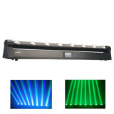 디스코 8X10W 크리 말 LED Stage Moving Head Beam Light