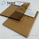 4mm-12mm 온실 건물 유리/황금 청동색 유리 (C-GB)