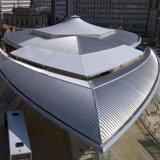 Les matériaux de construction en aluminium en alliage de magnésium métal coloré Mn panneaux de toiture