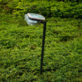 Lumière solaire de jardin (le panneau solaire peut être réglé)