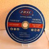 Roue de découpage pour Metal-230X3X22.2