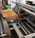 접히는 자동적인 판지 상자 장 기계 제조자를 접착제로 붙이기