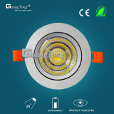 Mejor LED China fabricante 12W / 15W LED Downlight COB LED de luz