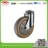 100mm 볼베어링 TPR 손수레 바퀴 (L150-34E100X30F)