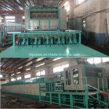 bandeja de huevos de residuos de la línea de producción de pulpa de papel bandeja de huevos la máquina