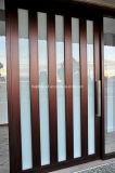 Современном жилом рамы деревянные двери поворотного шкворня