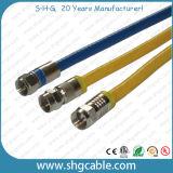 Het beroep sterkte-bewaart het Coaxiale Hulpmiddel van de Compressie van de Kabel Rg59 RG6 Rg11