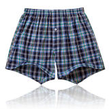 Cheap Customize Personal Logo Sexy Men Woven Boxers