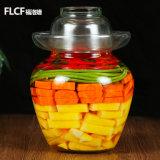 Rippenstück-Art legt Glas, Essiggurke-Flasche des Glas-2.5kg-10kg in Essig ein
