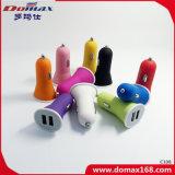 Carregador móvel do carro do curso do adaptador da potência do USB do telefone de pilha 2
