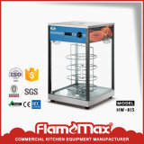 Réchauffeur de nourriture chaud de la vente 2-Drawer d'acier inoxydable pour les pains (HW-82)