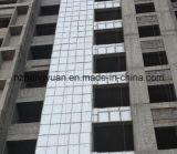 Tela de alumínio em fibra de vidro, material de construção à prova de fogo para placa de isolamento a vácuo