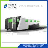 3000W de Laser die van de Vezel van de Lijst van de Pallet van het Metaal van het staal Egraving Machine4020 snijden