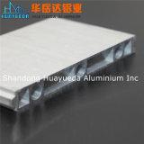 Profil en aluminium argenté de anodisation pour le guichet en aluminium et les portes d'extrusion
