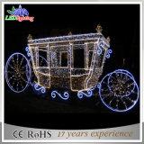 Heißes Kürbis-Wagen-Dekoration-Licht des Feiertags-Weihnachten3d