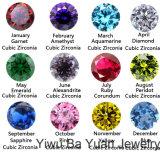 Multi-Color FC Araña cuelgue CZ Boda nupcial Crystal Earrings Silver Tone