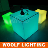 16 couleurs Changing Party Event Furniture LED Cube