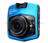 """2.4 """"夜間視界車DVRのカメラのビデオレコーダーのダッシュカムGセンサー完全なHD 1080P"""