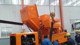 De Concrete Pomp van de Dieselmotor van Lovol met de Mixer van de Dieselmotor Yanmar in Één het Mengen zich Pomp