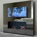 Écran LCD de haute qualité étanche miroir magique ou de la publicité avec système CNS