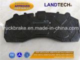 Eurotek/LandtechのトラックはブレーキパッドWva 29087/29202/29278/29253を分ける