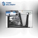 Hochgeschwindigkeits-HDPE-LDPE-PET Nylonpolyfarbe Flexo Drucken-Maschine des plastikfilm-6,