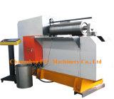 Carbono ou rolo inoxidável da placa da fabricação do cilindro de aço que dobram a máquina hidráulica