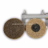 Non-Woven roda borboleta de Nylon abrasivos para tratamento de Aço Inoxidável
